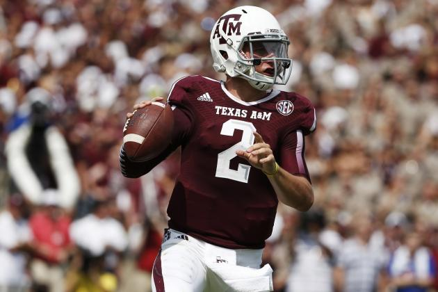 Alabama vs. Texas A&M: Grading Johnny Manziel's Performance in Loss to Tide