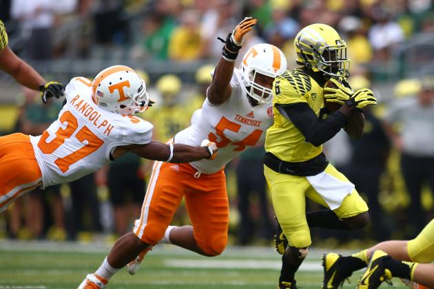 Tennessee vs. Oregon: Don't Worry Vols Fans, Ducks Just That Good