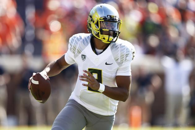 Marcus Mariota's 5-Touchdown Performance Puts Him in Heisman Spotlight