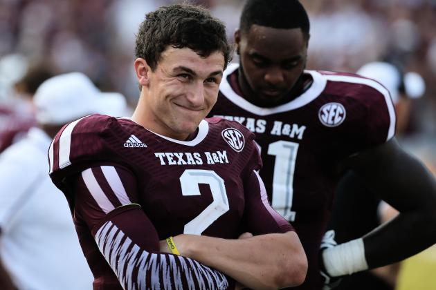 Johnny Manziel's Performance Against Alabama Crimson Tide Proves He's Elite QB