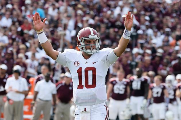 AJ McCarron Establishes Heisman Legitimacy with Performance Against Texas A&M