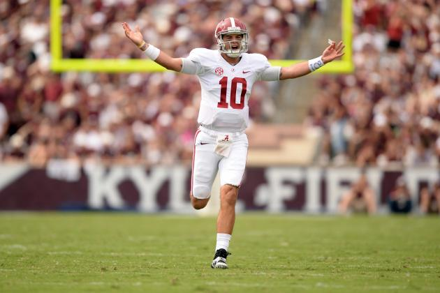 AJ McCarron's Virtuoso Performance vs. Texas A&M Could Be His Heisman Moment