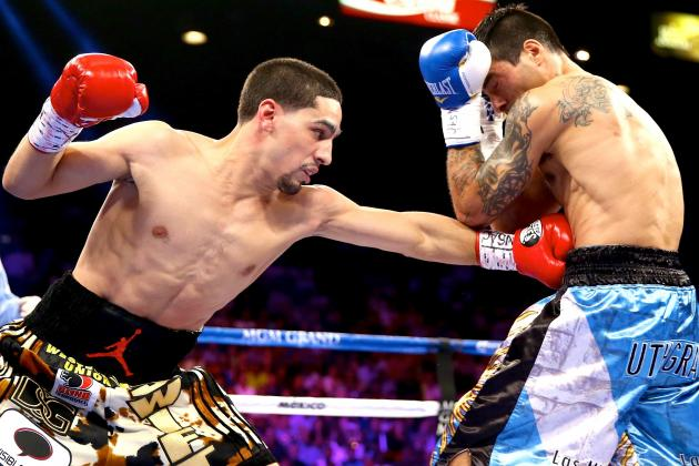 Garcia Edges Matthysse, Molina and Cano Win on Mayweather vs. Canelo Undercard