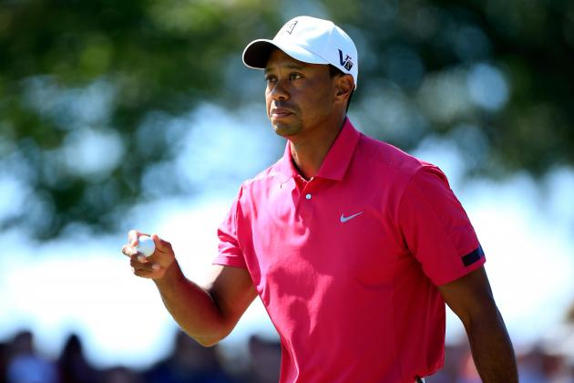 Tiger Woods at BMW Championship 2013 Tracker: Live Day 4 Highlights