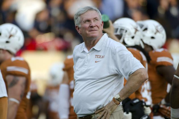 Mack Brown Must Dominate Big 12 Play to Get off Hot Seat After Ole Miss Loss