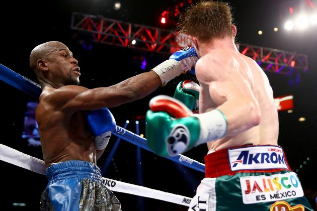 Floyd Mayweather vs. Canelo Alvarez: Money Cements Status as the Best of His Era