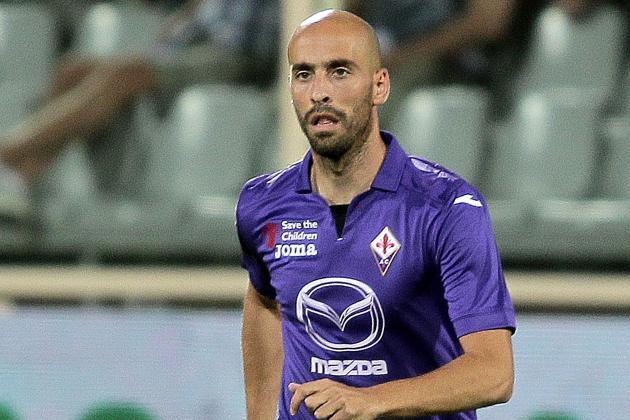 Fiorentina V Cagliari