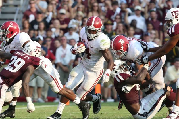 College Football Rankings 2013 Week 4: Where Each Program Stands in Top 25