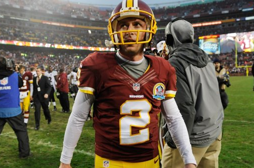 Kai Forbath out vs. Packers, John Potter to Replace