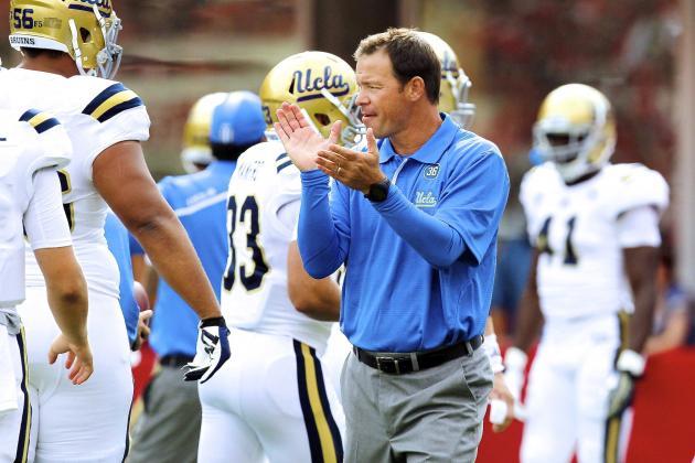 UCLA Football: Jim Mora's 2nd-Half Adjustments Prove He Is an Elite Coach