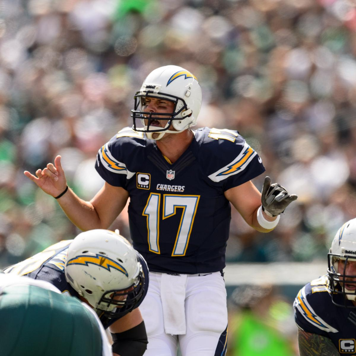 San Diego Chargers Backup Quarterback: Is Chargers QB Philip Rivers Finally Back To His Pro Bowl