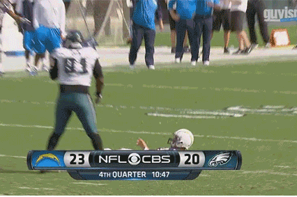 Philip Rivers with a World Class Flop