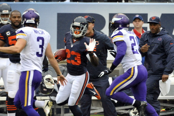 Things are going well for the Vikings, but they have to stop kicking the ball to Devin Hester.