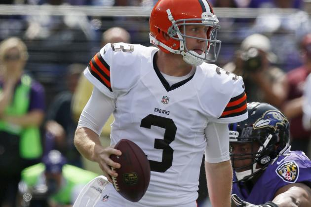 Weeden Questionable to Return with Thumb Injury