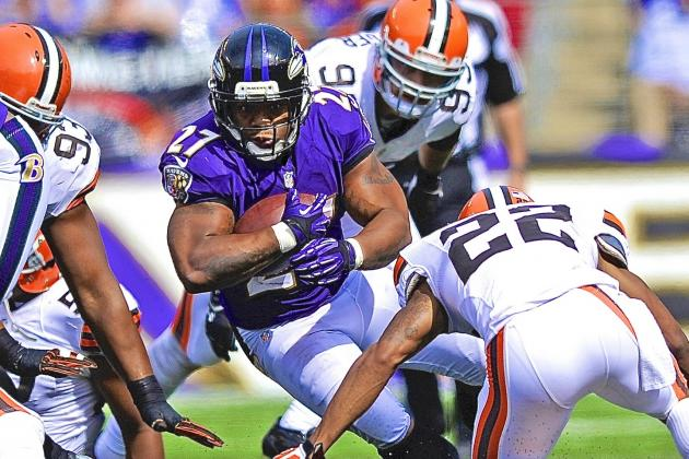 Ray Rice Injury: Updates on Ravens RB's Hip