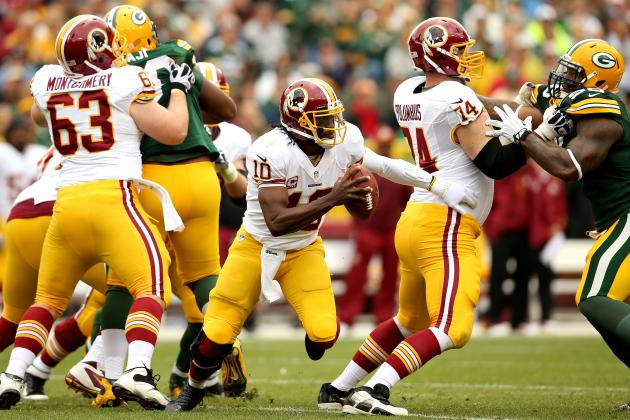 Robert Griffin III Shouldn't Receive Blame for Washington Redskins' Struggles
