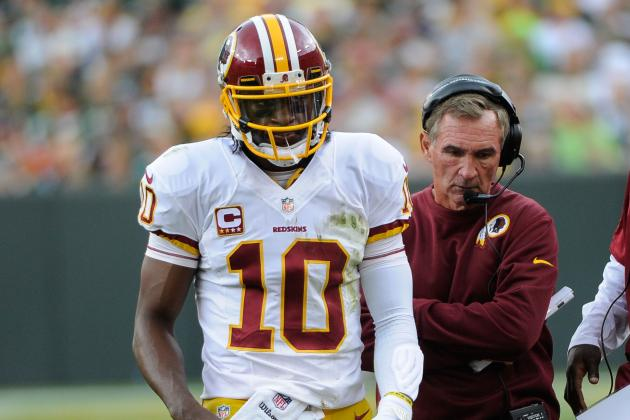 RGIII Vows Redskins Will 'Figure It Out' After Falling to 0-2