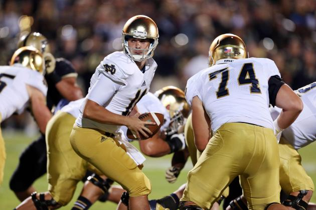 Notre Dame Football: Close Win over Purdue Doesn't Bode Well for Irish