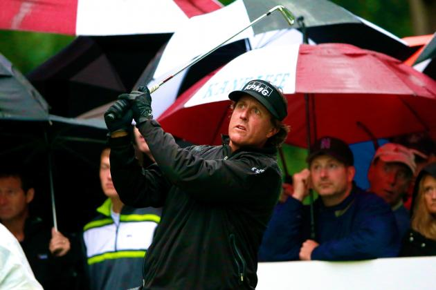 BMW Championship 2013: Weather Pushes Final Round to Monday