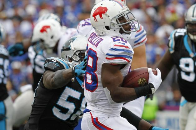 C.J. Spiller 'Getting into the Groove' with 103-Yard Performance