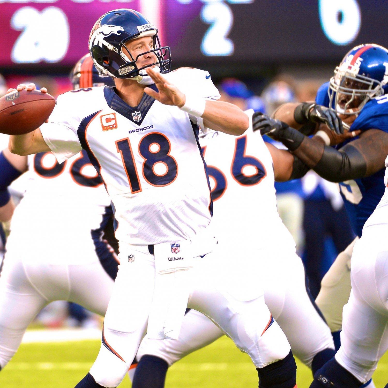 Denver Broncos Re Grading Their Key 2013 Offseason: Broncos Vs. Giants: Score, Grades And Analysis