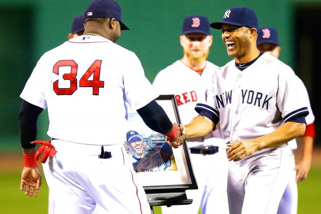 Mariano Rivera Honored by Boston Red Sox in Final Game at Fenway Park