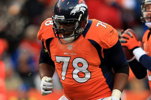 Report: Clady Thinks He's OK After Left Foot Injury