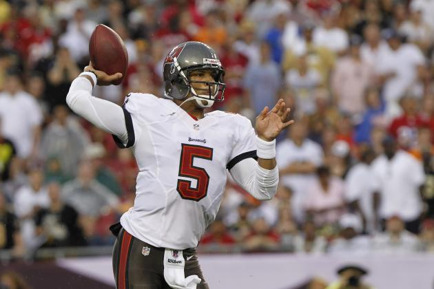 Grading Josh Freeman's Week 2 Performance Against the New Orleans Saints