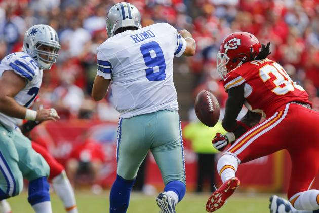 Breaking Down Tony Romo's Roller-Coaster Performance in Week 2