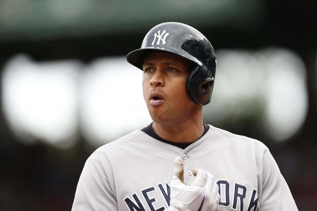A-Rod Exits with Tight Right Calf