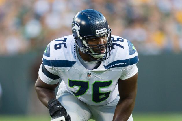 Russell Okung Carted off for X-Rays