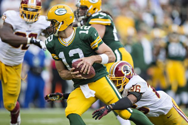 Washington Has No Answer for Rodgers