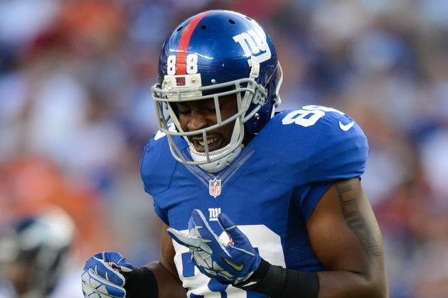 Brandon Myers, Hakeem Nicks Get Post-Game X-Rays Following Giants Loss
