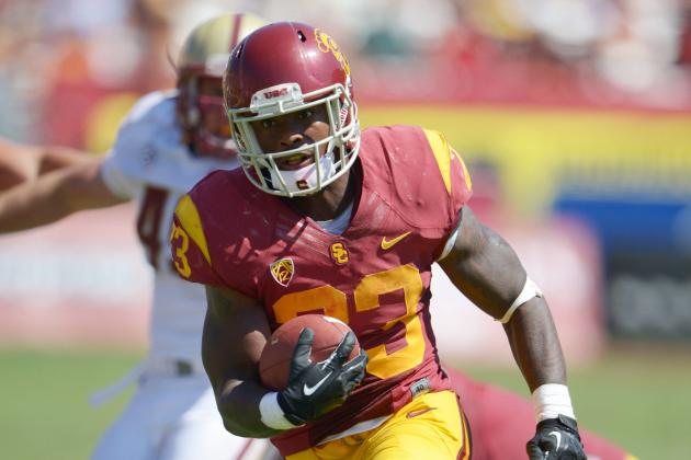 Madden Listed as USC's Starting RB