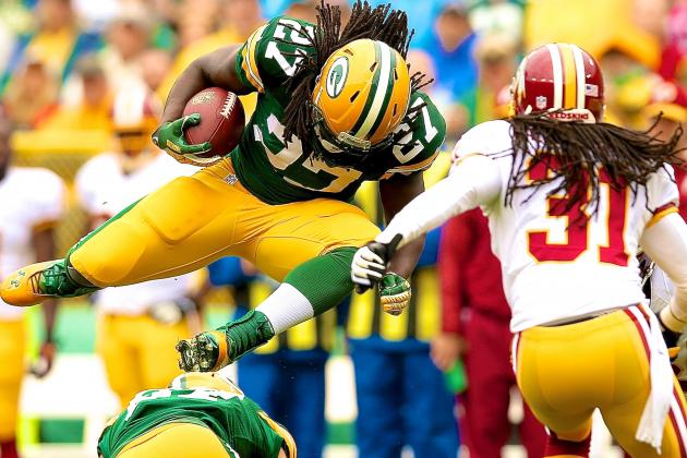 Breaking Down the Packers' Situation Following Eddie Lacy's Concussion