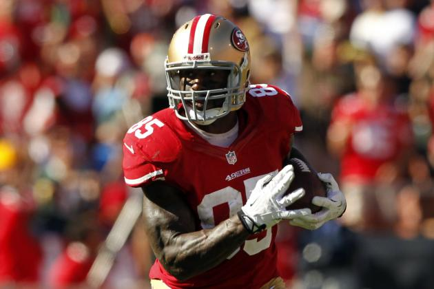 Vernon Davis Injury: Updates on 49ers Star's Hamstring, Likely Return Date