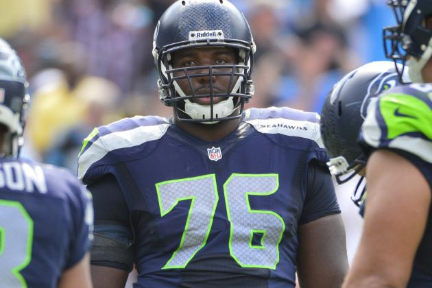 Okung Sidelined with Turf Toe