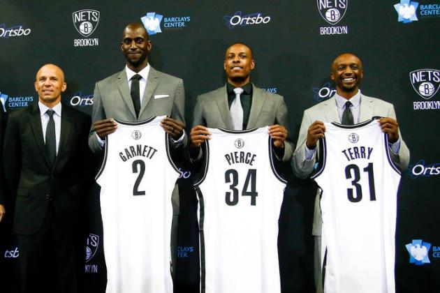 Milestones Aplenty This Season for Nets Players ... Particularly Kevin Garnett