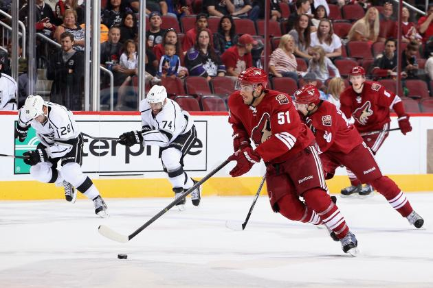 Which Phoenix Coyotes Have the Best Chance to Make the 2013-14 Roster?