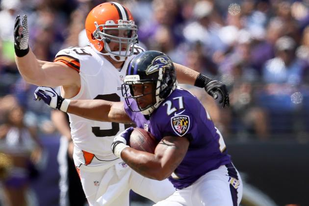 Browns' Hold Ravens' Ground Attack to 99 Yards