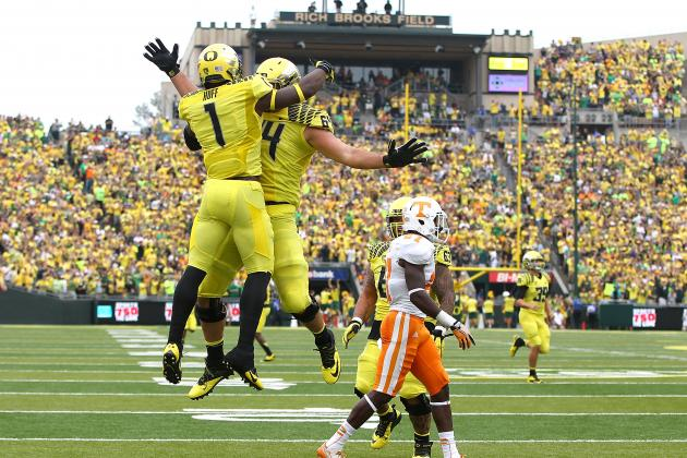 WR Josh Huff Leads Oregon Offense Now Complete with Elite Wide Receivers