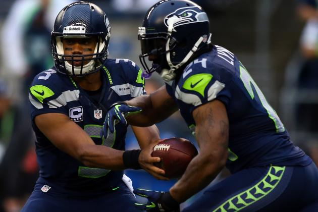 Seahawks Shrug off Sloppy Start, Lightning Storm