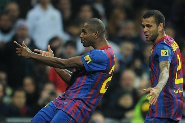 Eric Abidal's Barcelona Teammate Dani Alves Offered Part of Liver for Transplant