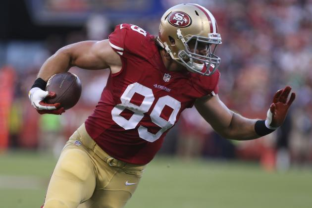 Vance McDonald's Full Fantasy Scouting Report Following Vernon Davis' Injury