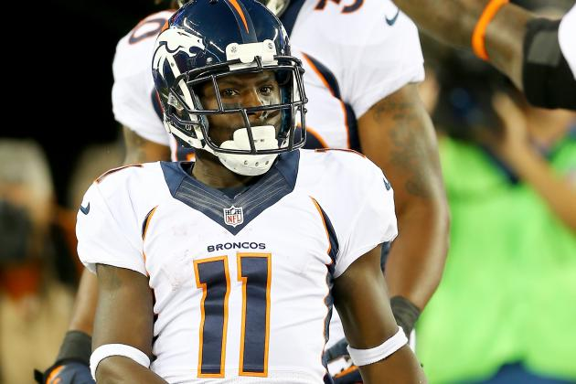 Trindon Holliday Picks Up Fifth TD Kick Return Since Joining Broncos