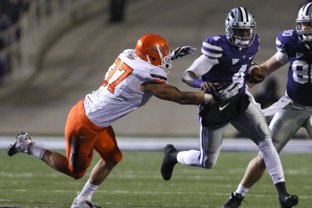 Why Kansas State QB Daniel Sams Is Giving Texas Coaches Nightmares