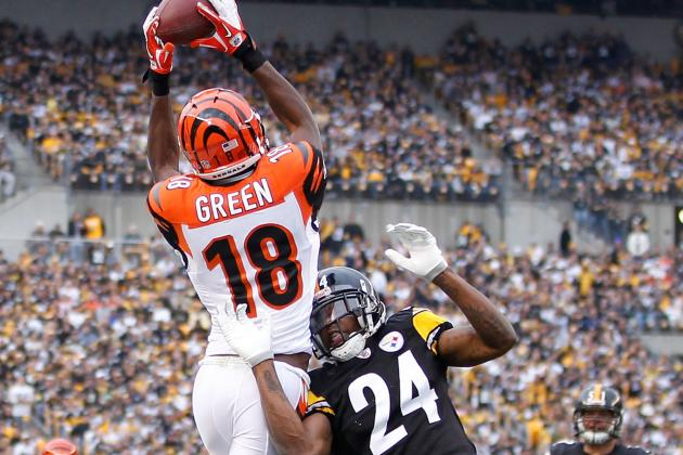 Head-to-Head: Steelers CB Ike Taylor vs. Bengals WR A.J. Green