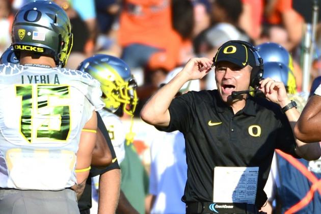 Oregon's Colt Lyerla Upset with How Mark Helfrich Handled TE's Absence vs. Vols
