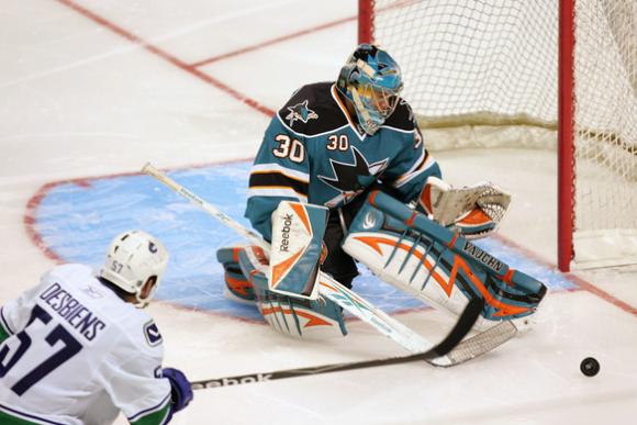 San Jose Sharks' Backup Goaltender Competition Begins in Earnest