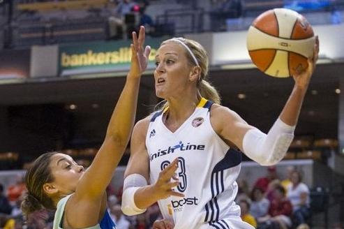 Energized by Return of Katie Douglas, Fever Escape from New York 66-63